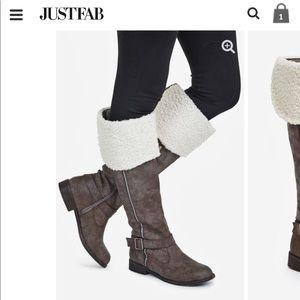 NWT JustFab Yathi Boots
